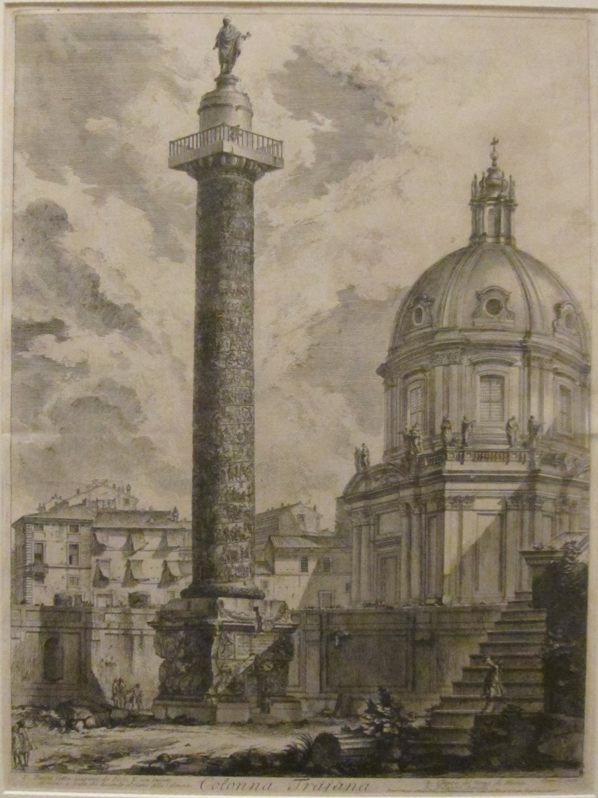 File Column Of Trajan From Views Of Rome By Giovanni