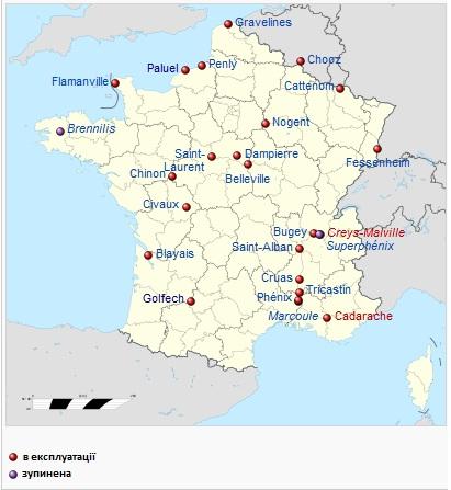 Атомная энергетика Франции — Википедия