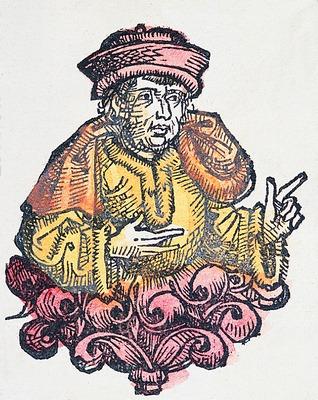 Depiction of Arnobio de Sicca