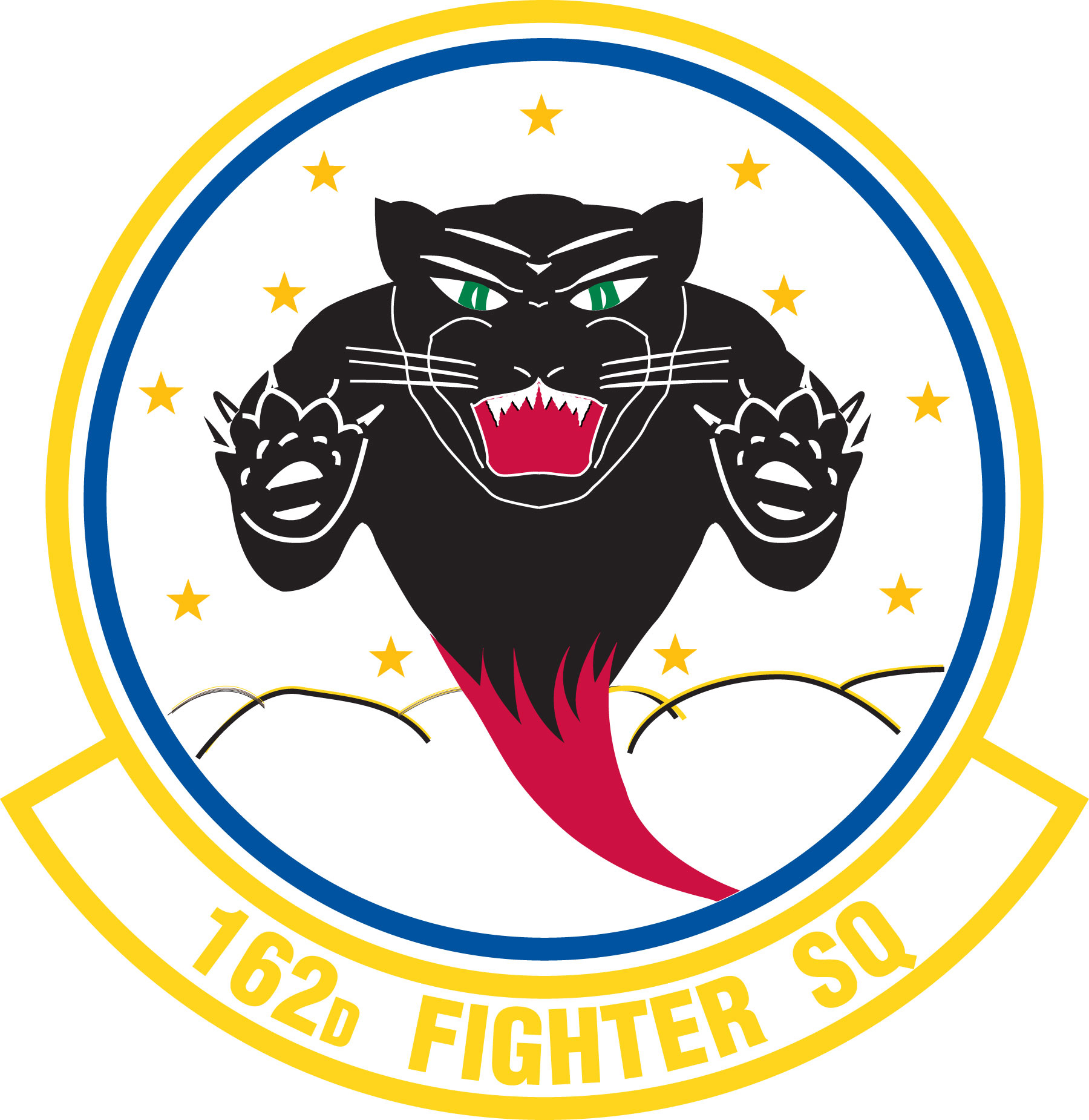 Fighter Squadron Logo File:162nd Fighter Squadron