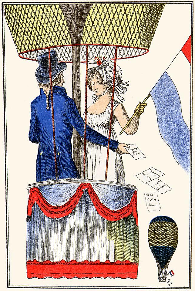 Ensilennolla. Journal des Dames et des Modes, 1797-1798
