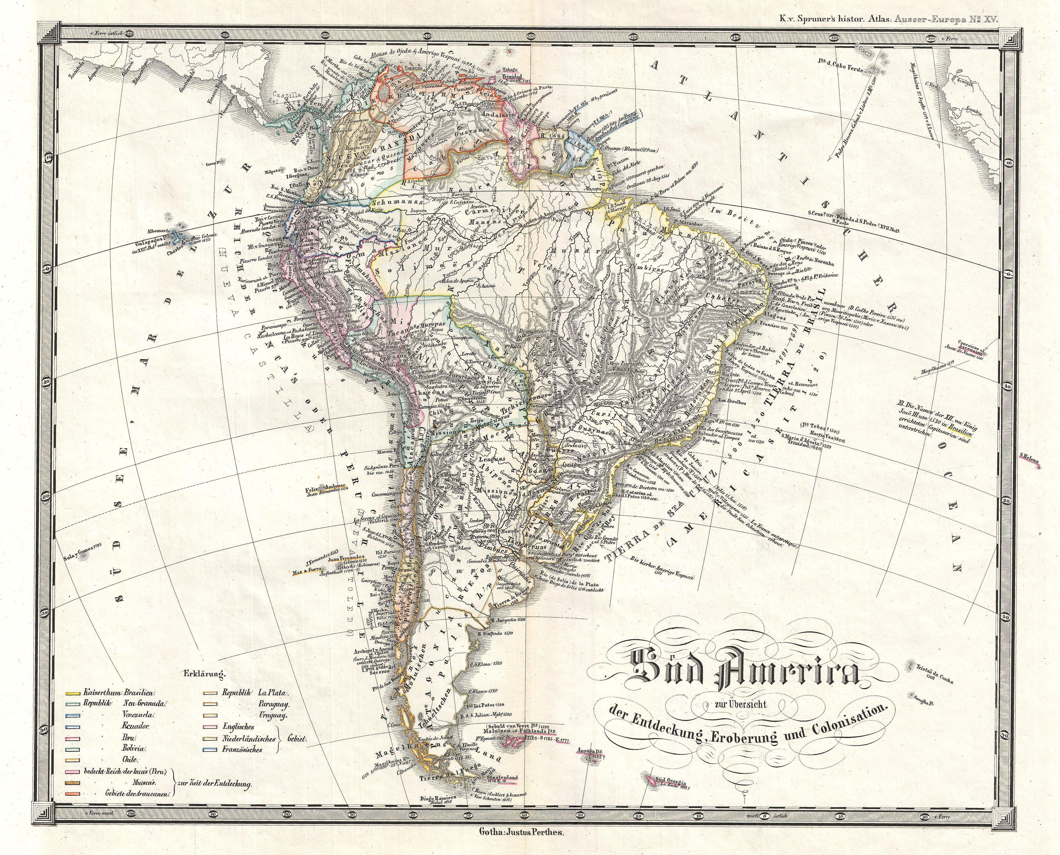 colonization of latin america and north Depending on who colonized what area, the regions also differ culturally north america is predominantly influenced by britain, as majority of the north america, mainly usa and canada, were colonized by great britain whereas, mexico, parts of central america, and majority of south america were under the rule of spain,.