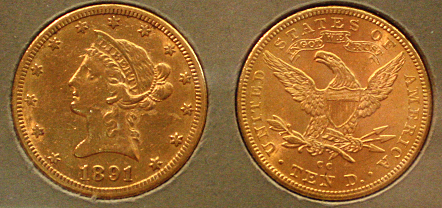 $10 Liberty Eagle Gold Coin