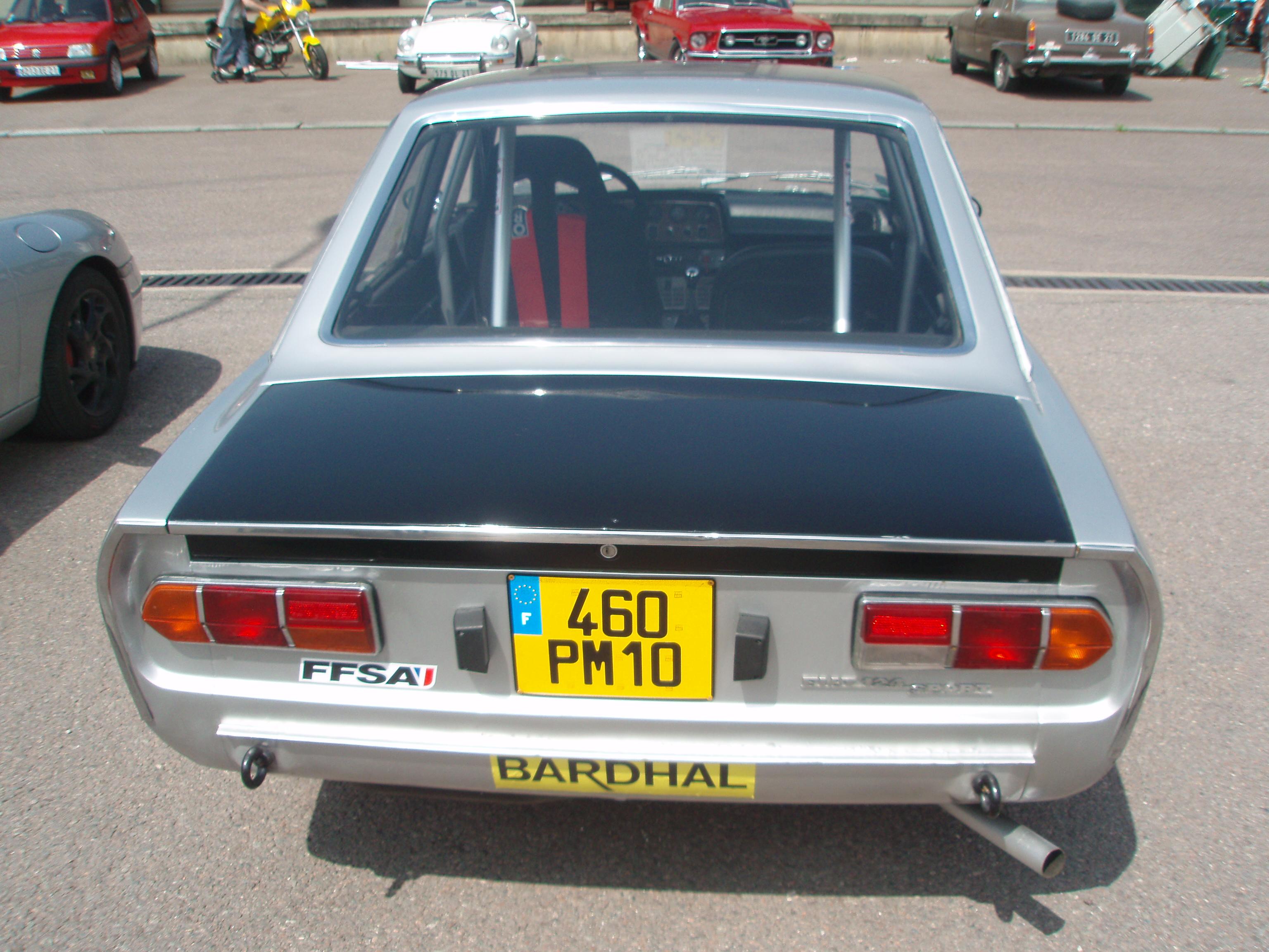 File 1968 Fiat 124 Sport Ac Rear Jpg Wikimedia Commons