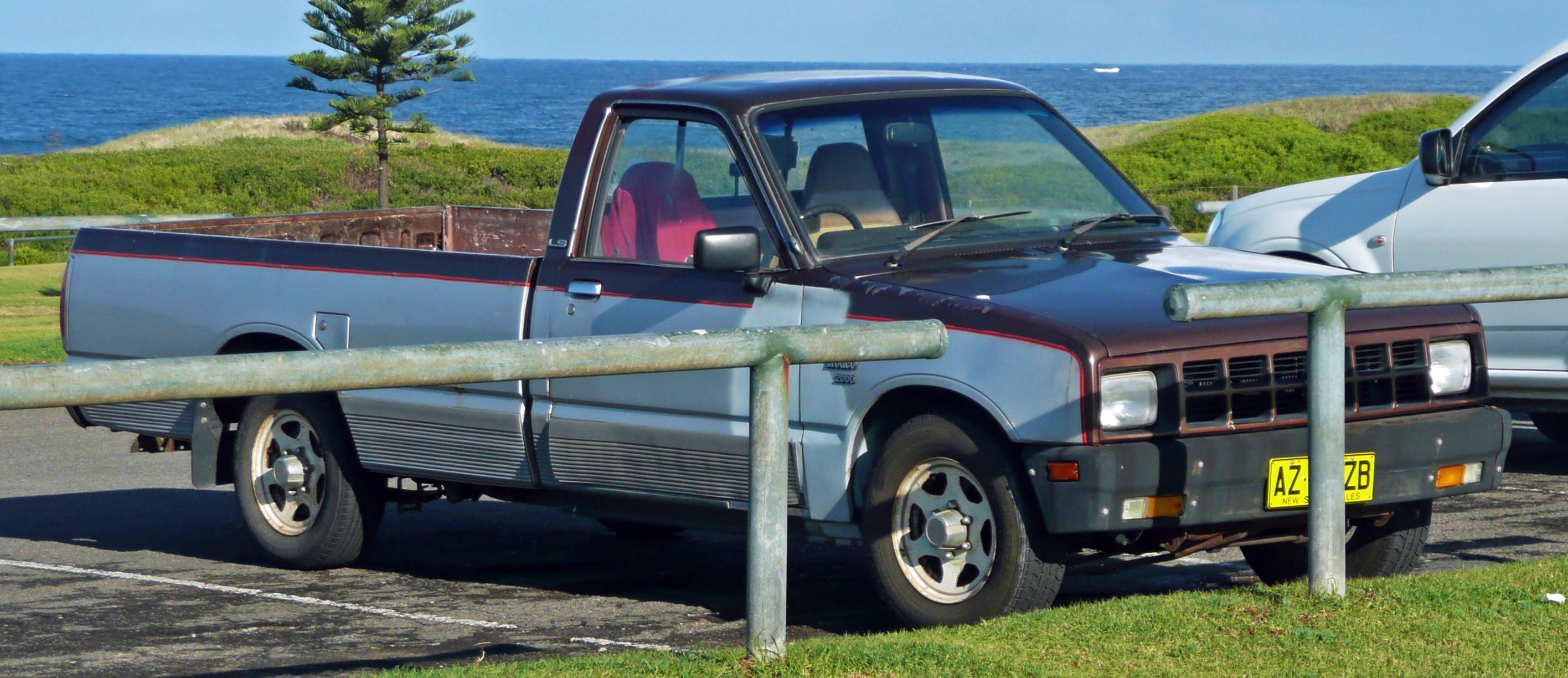 File:1985 Holden Rodeo (KB28) LS 2-door utility (2010-