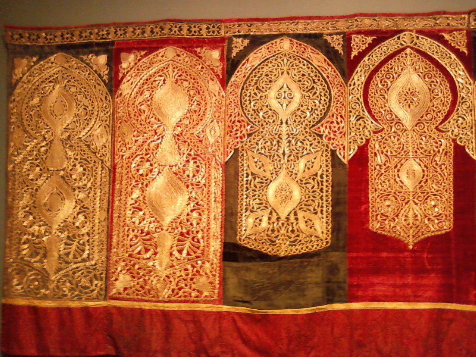 Http Commons Wikimedia Org Wiki File 19th Century Moroccan Ceremonial Hanging Jpg