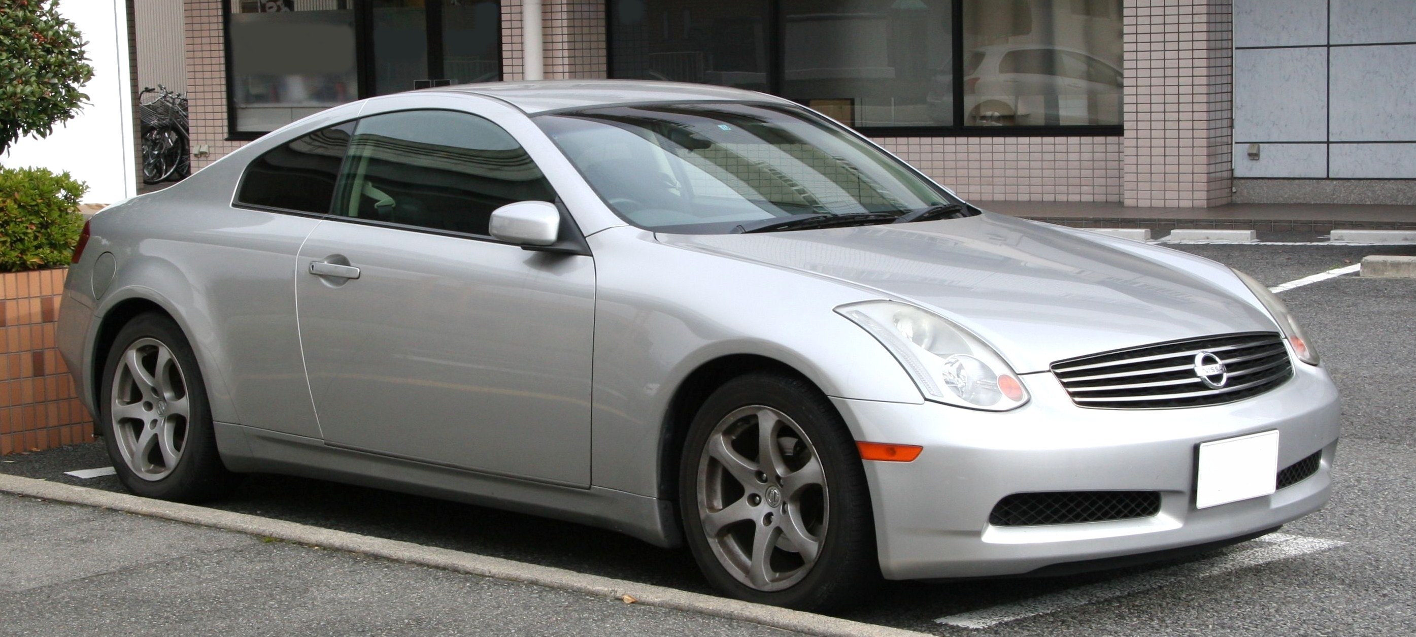 File 2003 2005 Nissan Skyline Coupe 5at Jpg Wikimedia