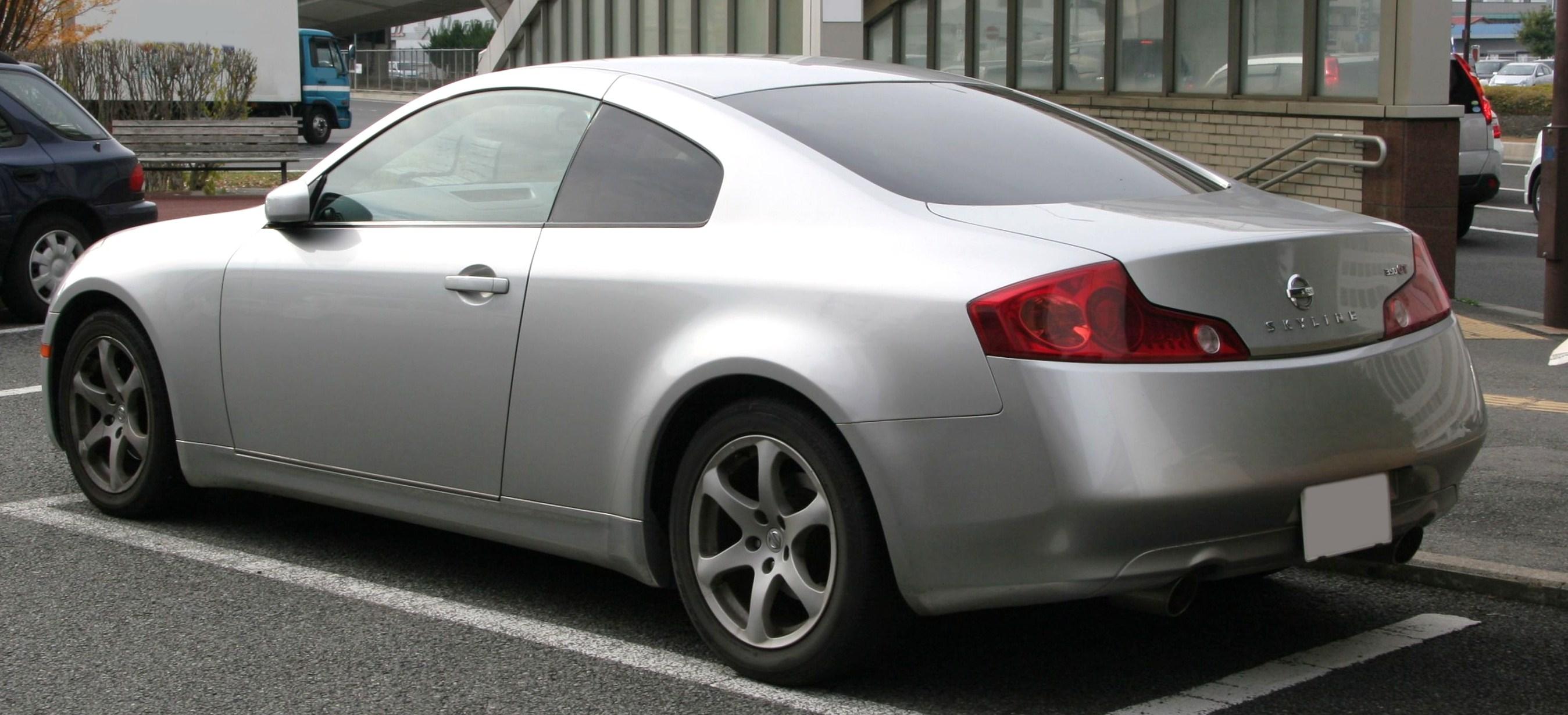 File 2003 2005 Nissan Skyline Coupe 5at Rear Jpg