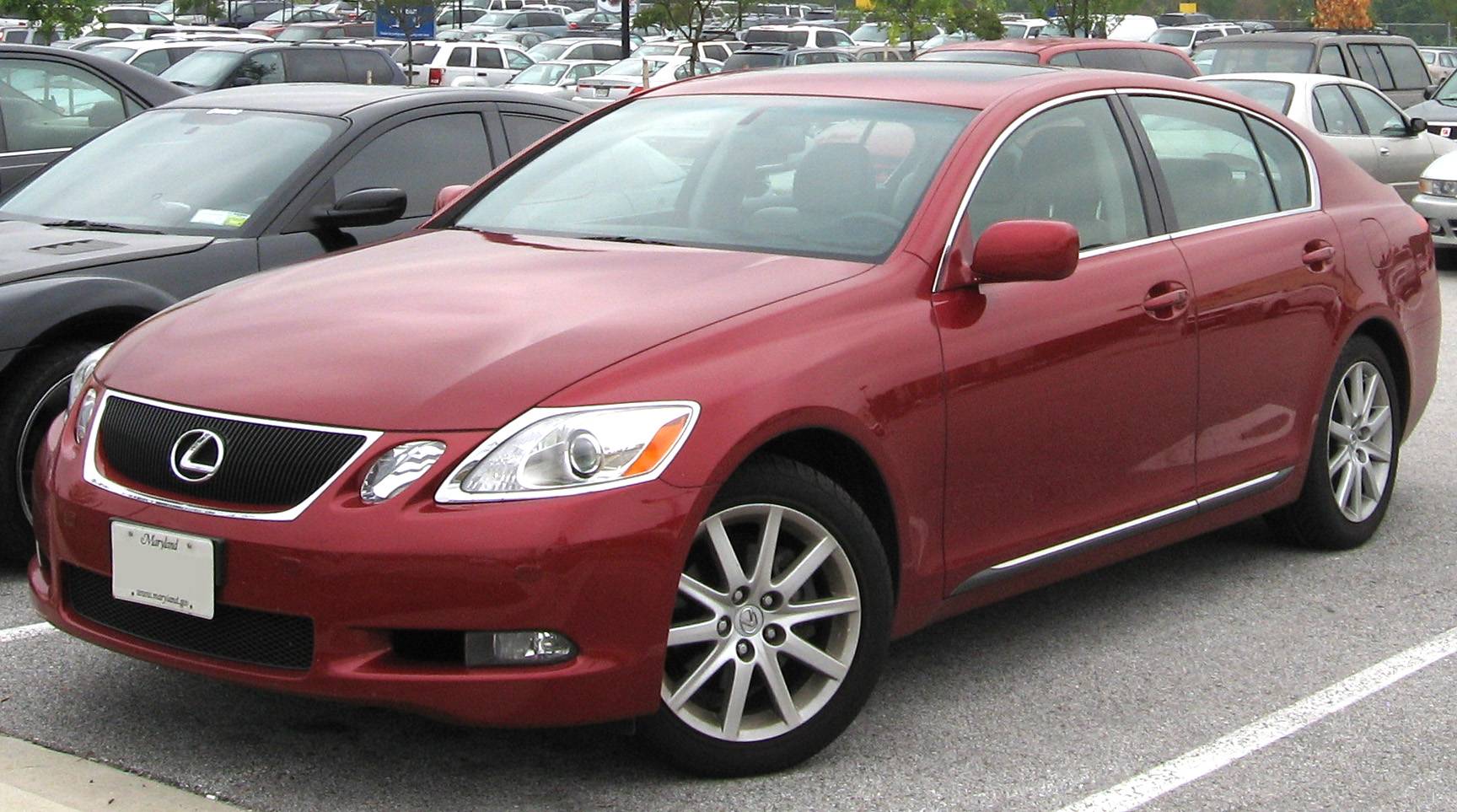 File 2006 Lexus Gs 300 Jpg Wikimedia Commons