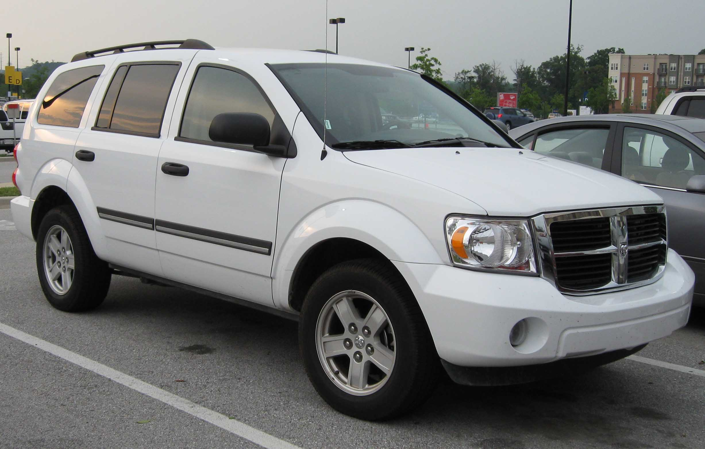 File 2007 2008 Dodge Durango Jpg Wikimedia Commons
