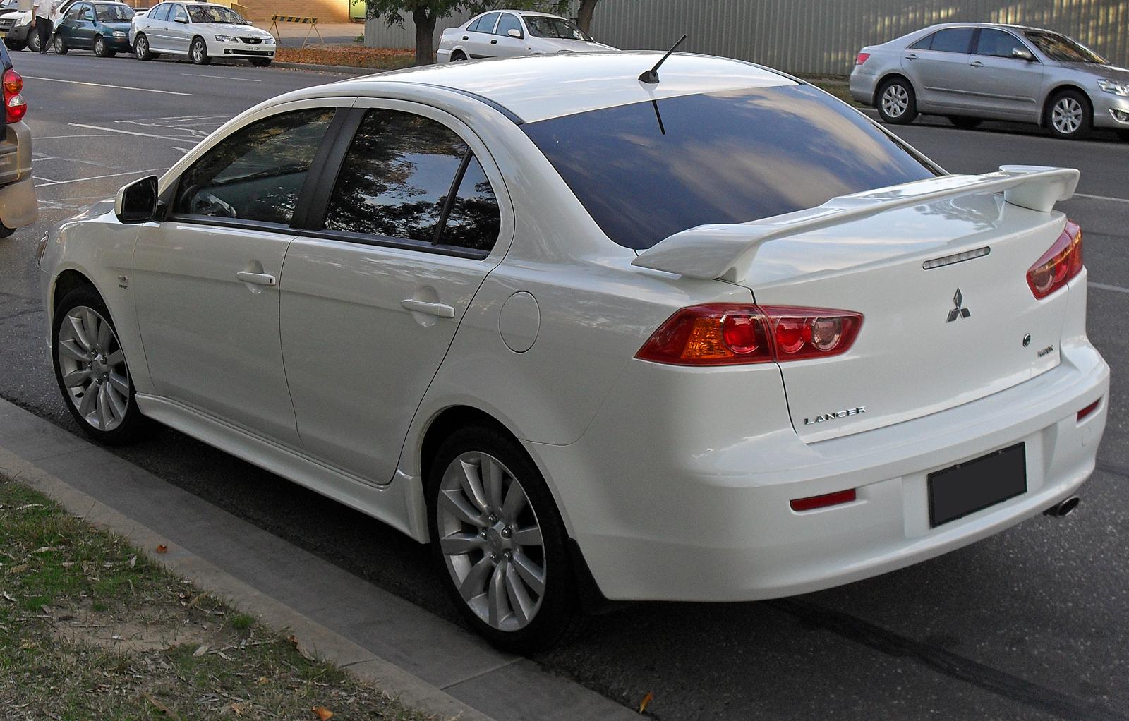 Mitsubishi lancer vrx 2008