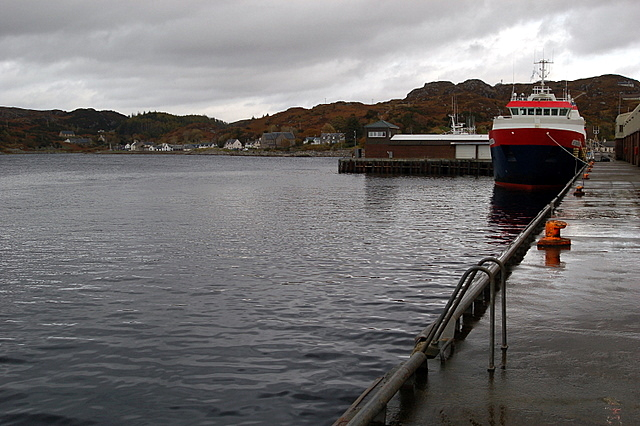 File:A Trawler at Lochinver Harbour - geograph.org.uk - 1018143.jpg