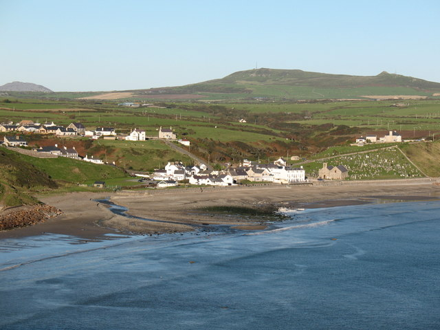 File:Aberdaron from the coast path - geograph.org.uk - 1005093.jpg