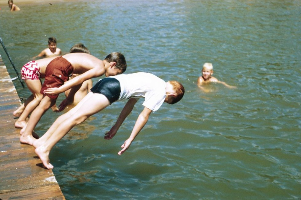 file about to dive off a dock jpg wikimedia commons