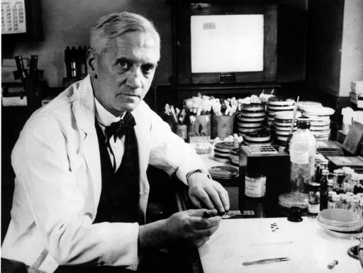 Bilderesultat for Sir Alexander Fleming