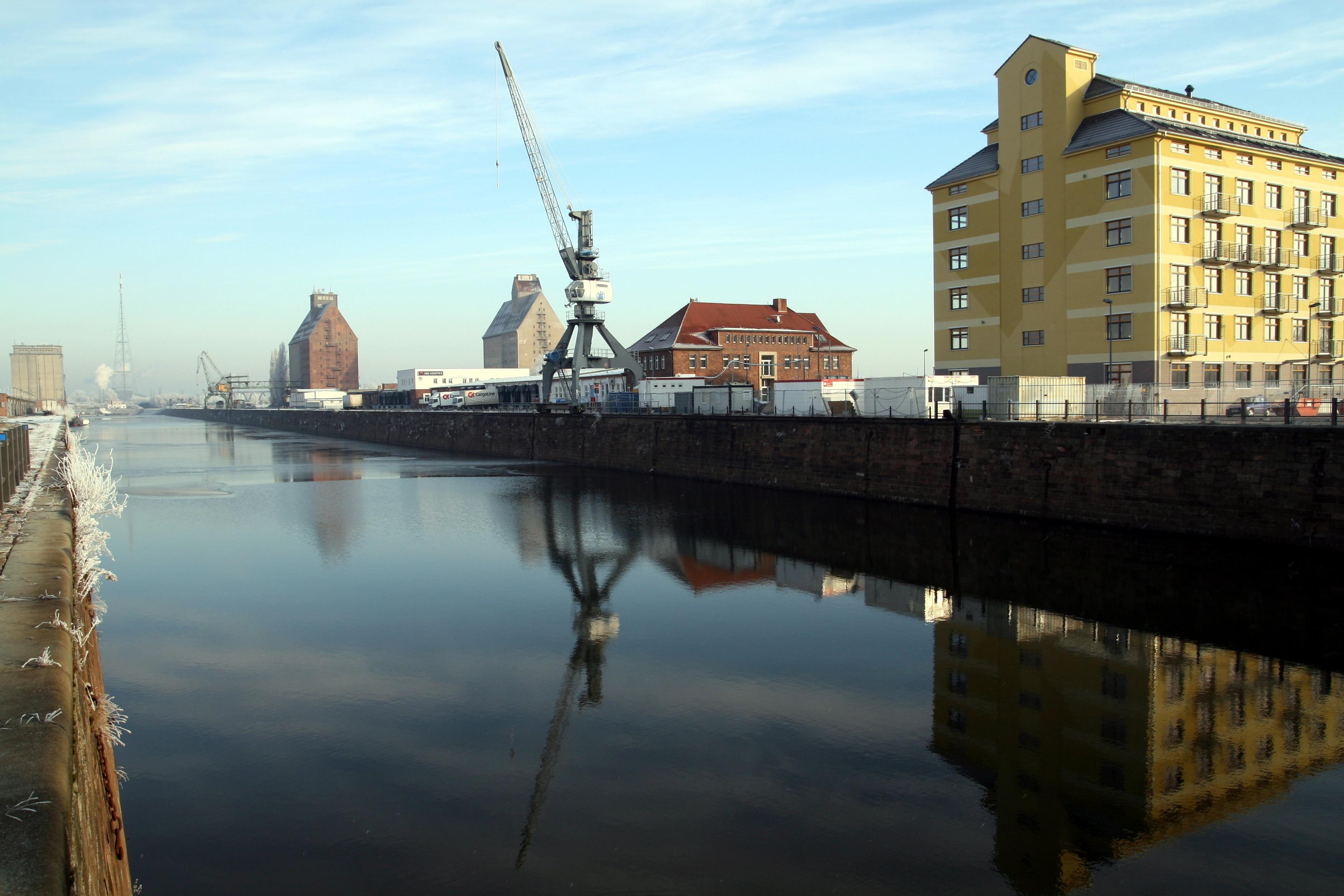 Alter Hafen Magdeburg - Quelle: WikiCommons