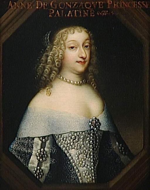 Cela s'est passé en 1684 selon Dangeau - Page 2 Anne_gonzague