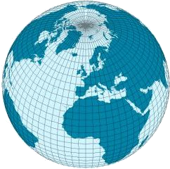 Geographical distance Distance measured along the surface of the earth