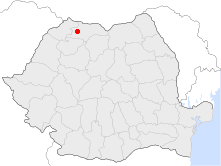 Location of Baia Mare
