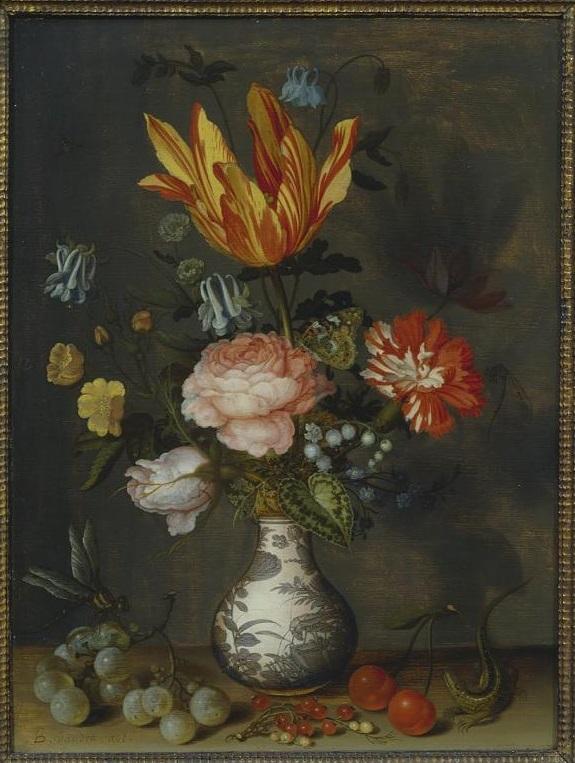 Flowers In A Wan Li Vase Wikipedia