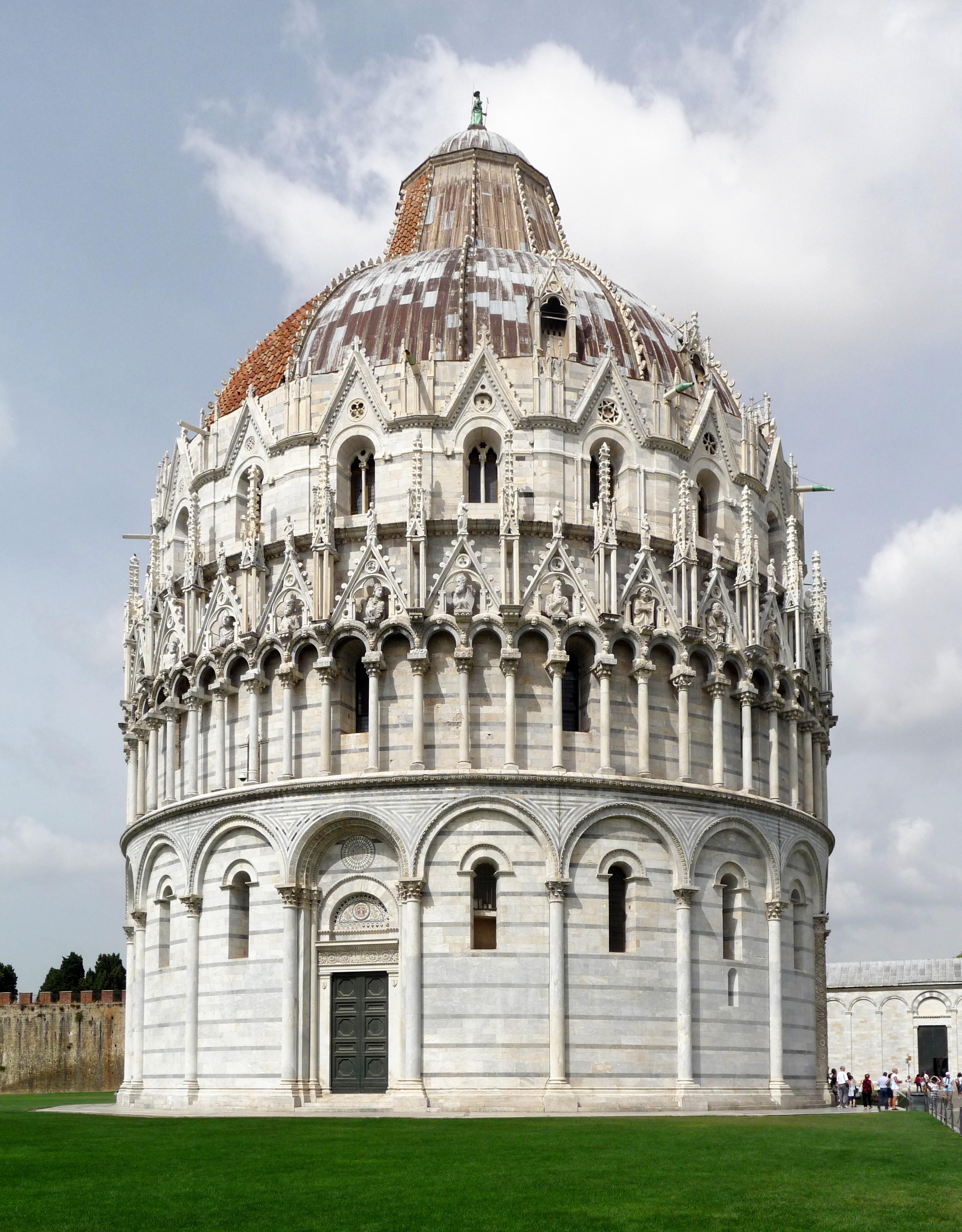 File:Battistero Piazza del Duomo, Pisa.jpg - Wikimedia Commons