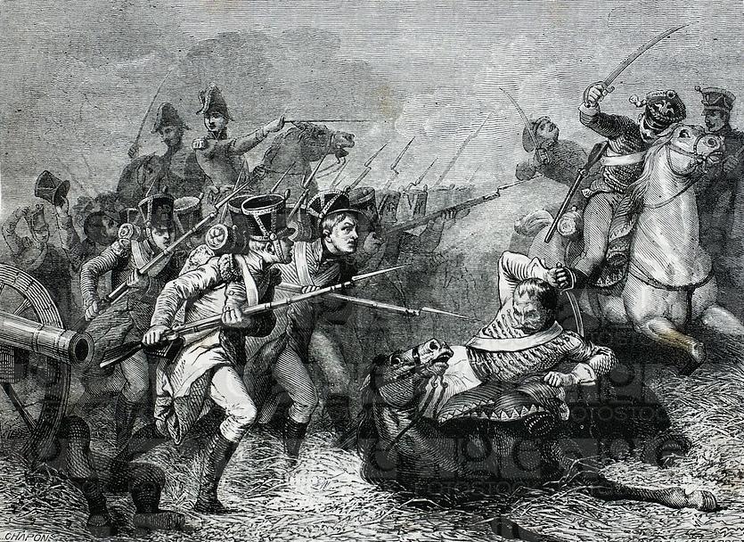 Битва при Вайсенфельсе 1813 г., автор Girardet.jpg