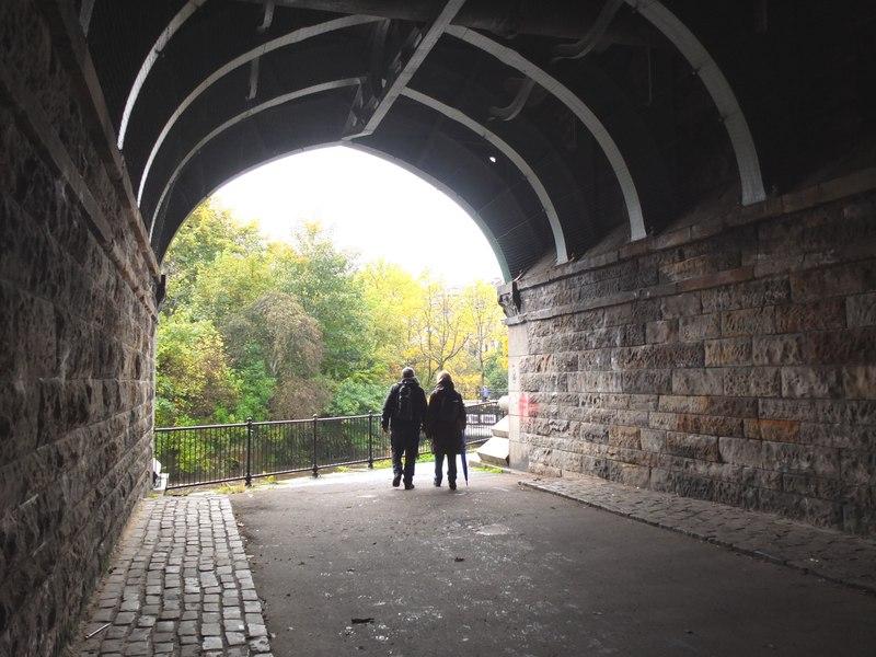 Beneath Kelvin Bridge, Glasgow (geograph 3190268)