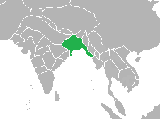 Extent of the Bengal Sultanate under Sultan Alauddin Hussain Shah in 1500 Bengal Sultanate.png