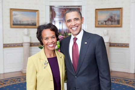 File:Bisa Williams with President Obama.jpg