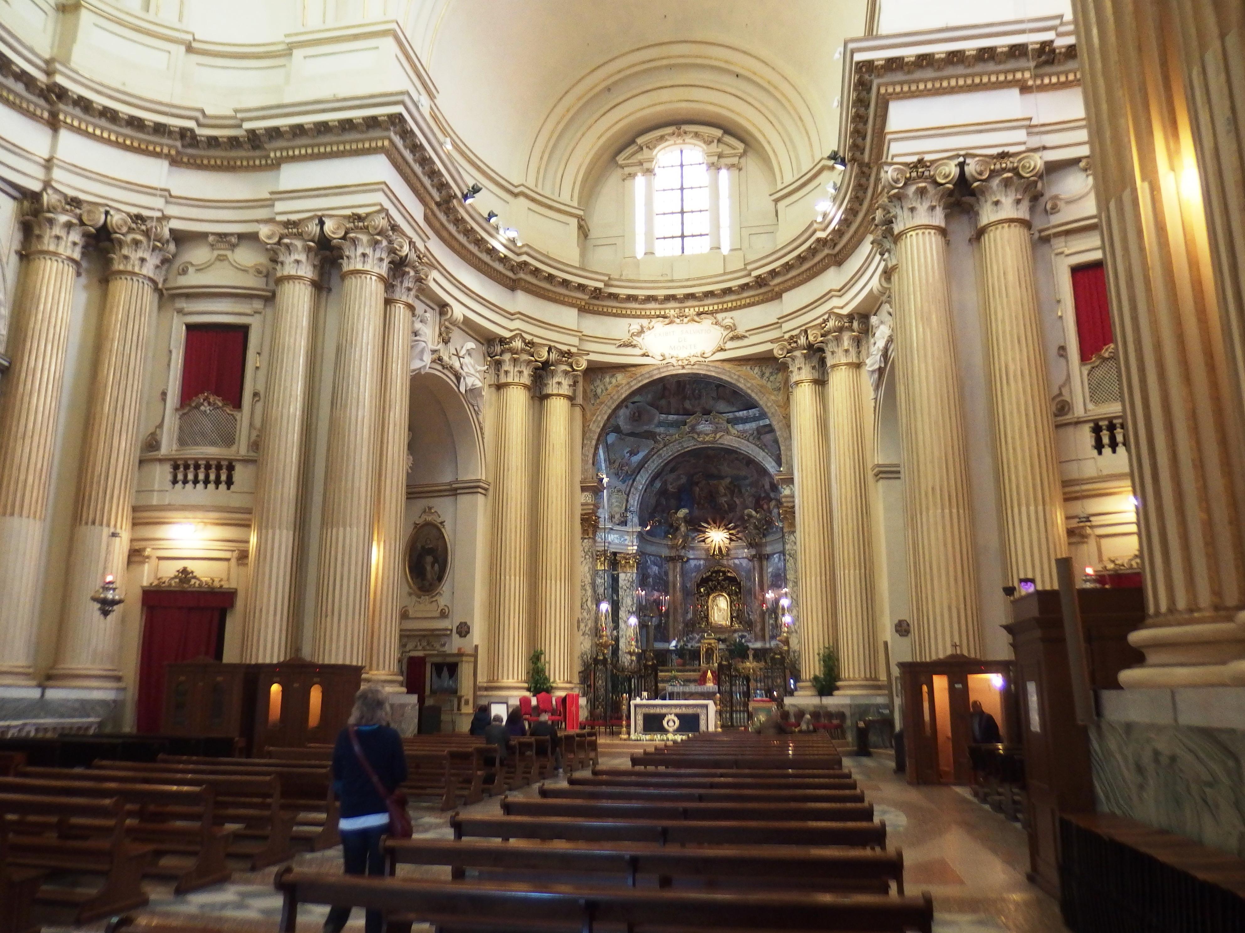 file bologna santuario della madonna di san luca interno