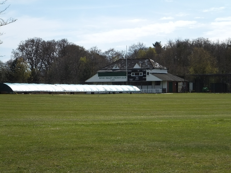 Bovey Tracey cricket ground and pavilion