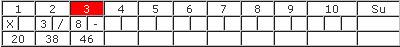Bowling-Spielformular 3