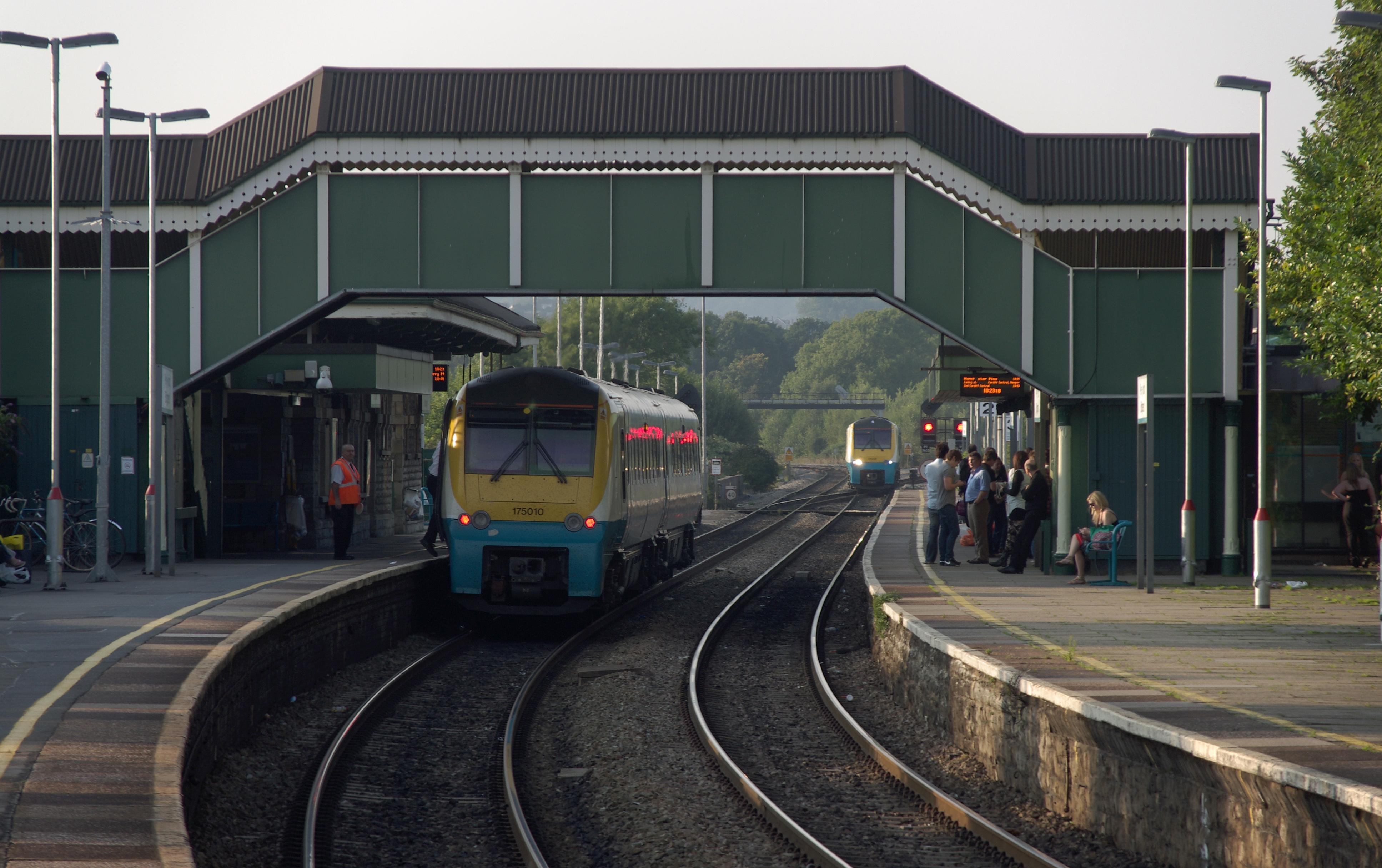 Bridgend rail station
