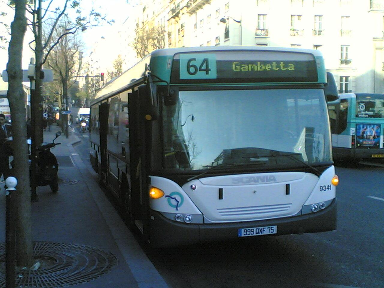Vos voitures (dans la vraie-vie) Bus_RATP_64_BFM