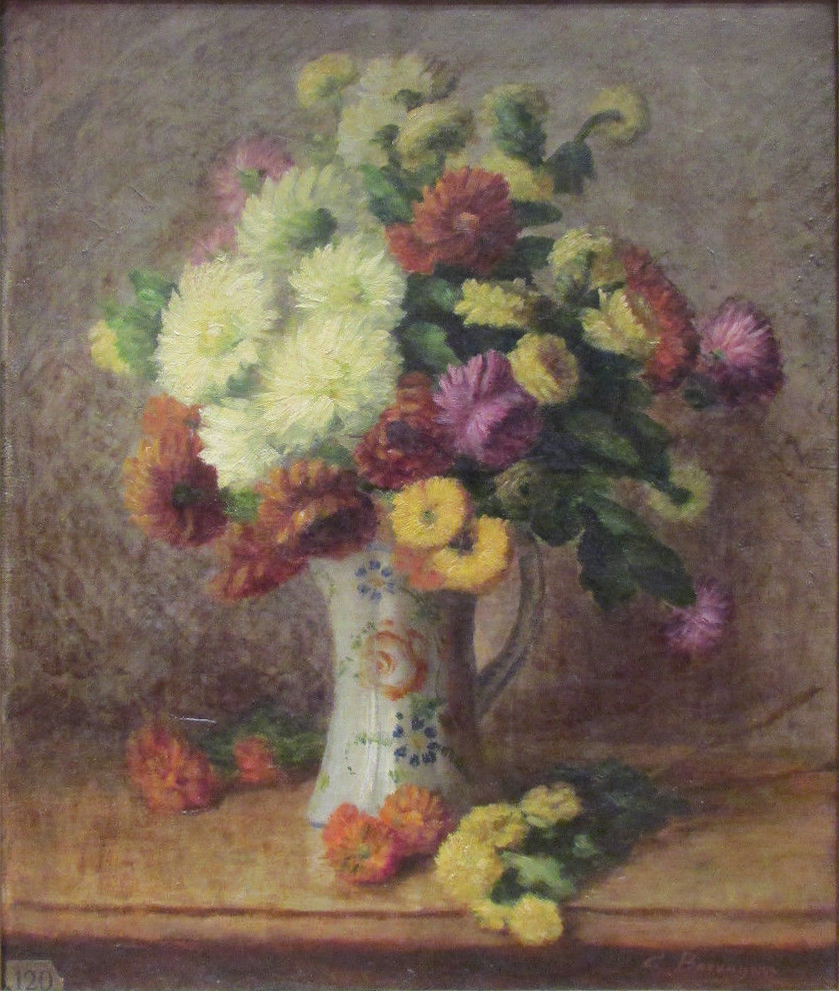 file camille bouvagne 1896 bouquet de fleurs oil on canvas 65 x 77 5 including frame. Black Bedroom Furniture Sets. Home Design Ideas