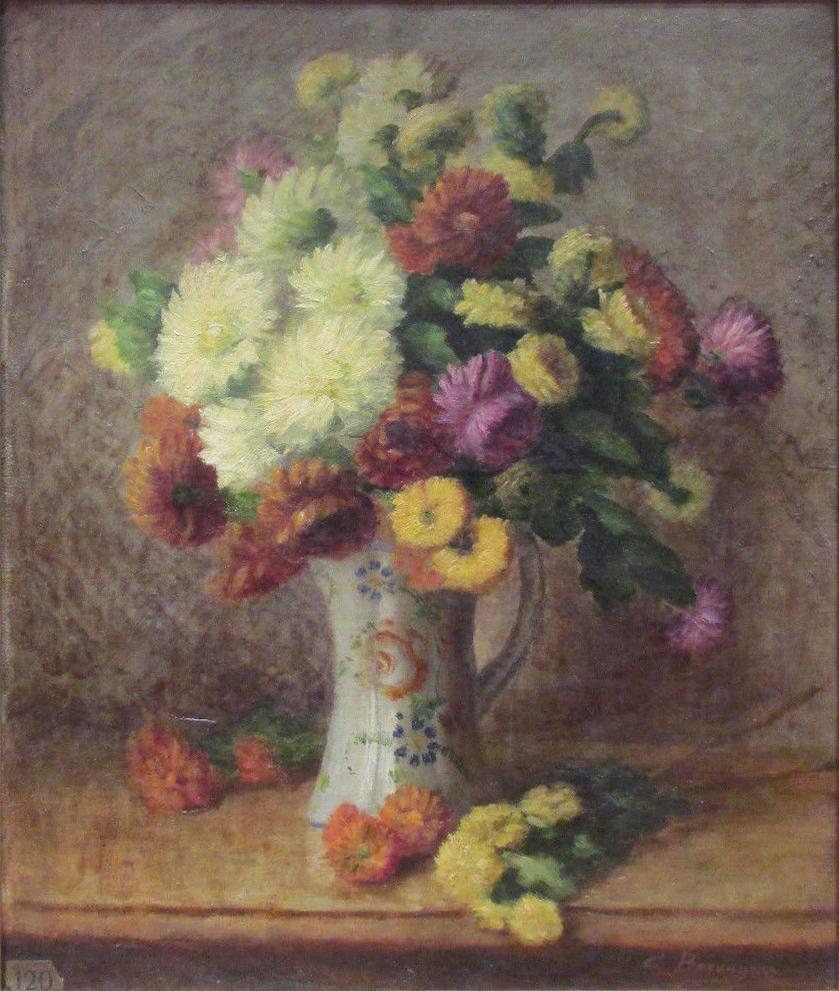 File camille bouvagne 1896 bouquet de fleurs oil on for Bouquet de fleurs wiki