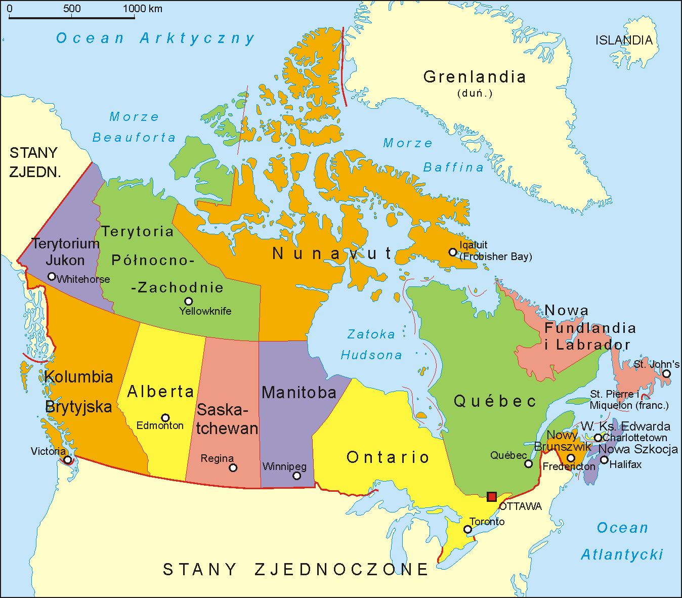 Map Of Canadas 3 Territories.File Canada Administrative Map Pl Png Wikimedia Commons