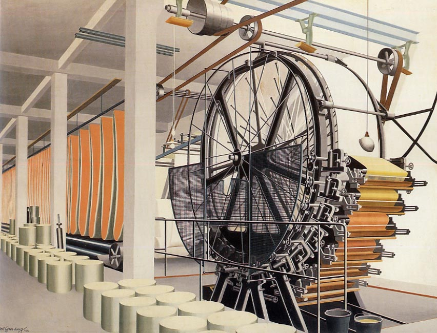The paper machine by Carl Grossberg (1934)
