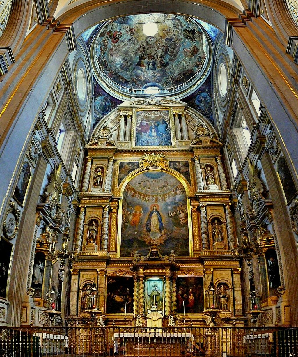 Altar de los Reyes en la Catedral de Puebla