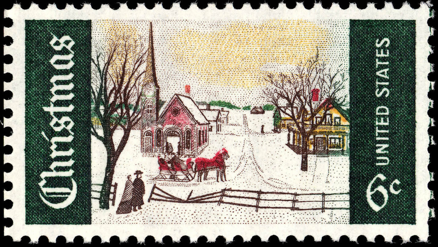 FileChristmas 6c 1969 Issue US Stamp