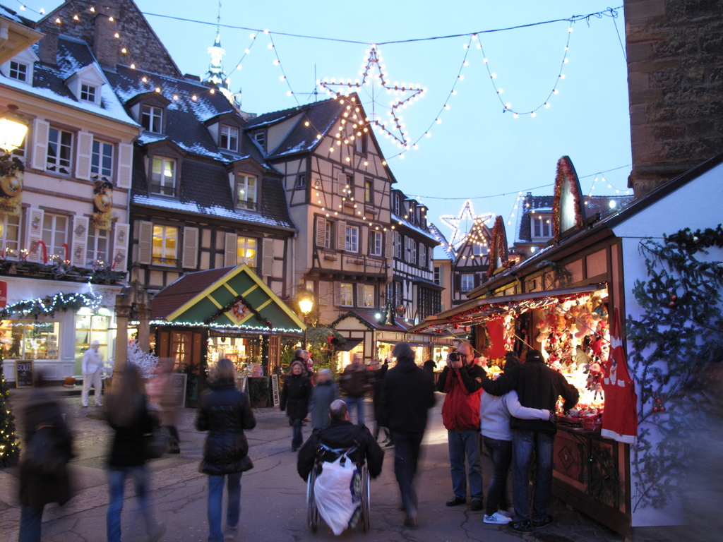 Christmas markets oakeley arms for Colmar pictures