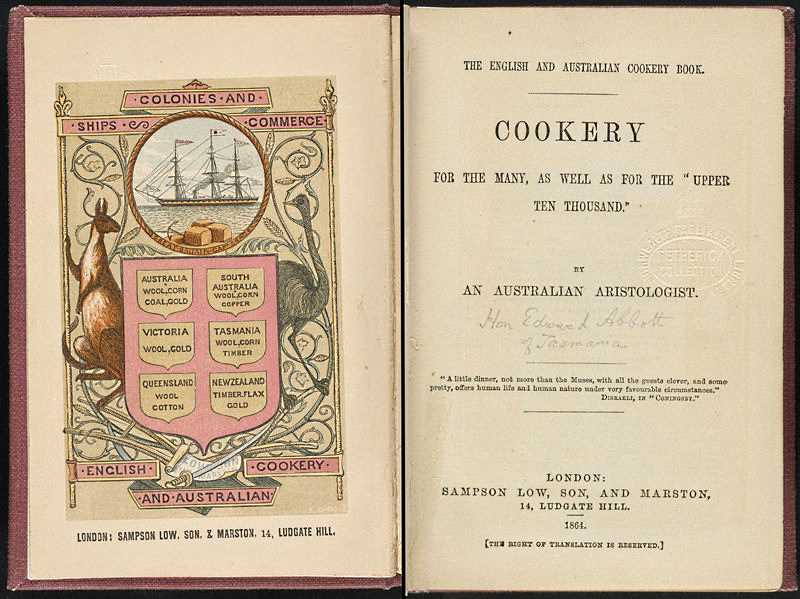 The English And Australian Cookery Book Wikipedia