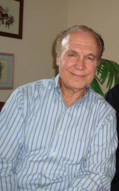 Don Freund at home in 2008