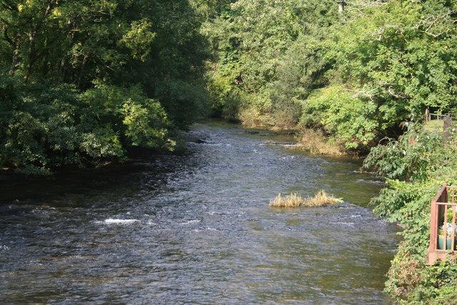 Dulverton, River Barle - geograph.org.uk - 970600