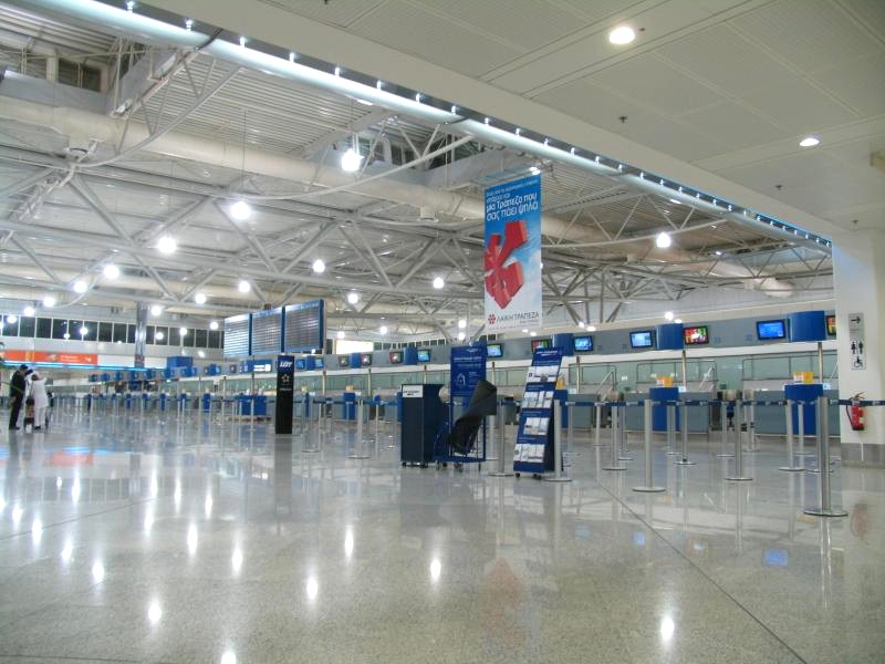 Аэропорт Афины Элефтериос Венизелос (Athens Eleftherios Venizelos International Airport). Официальный сайт.3