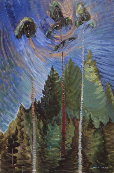 Titre original :    Description English: Odds and Ends, by Emily Carr (1871-1945) Date 2004-08-17 (original upload date) Source Transferred from en.wikipedia; transferred to Commons by User:YUL89YYZ using CommonsHelper. Author Original uploader was YUL89YYZ at en.wikipedia Permission (Reusing this file) PD-CANADA.  This image is available from Library and Archives Canada This tag does not indicate the copyright status of the attached work. A normal copyright tag is still required. See Commons:Licensing for more information. Library and Archives Canada does not allow free use of its copyrighted works. See Category:Images from Library and Archives Canada.  Current on-line source: http://collectionscanada.gc.ca/women/002026-150-e.php?uid=002026-nlc004285&uidc=recKey