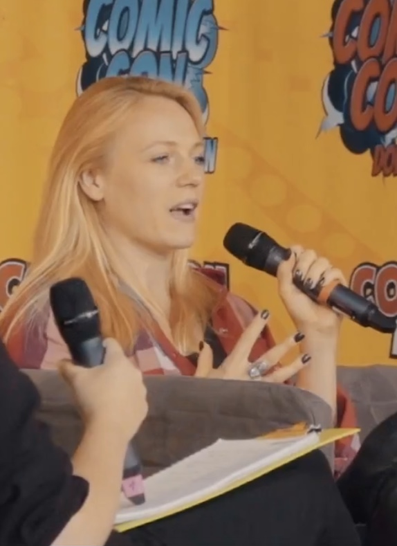 Bell at the 2018 [[German Comic Con]] Berlin