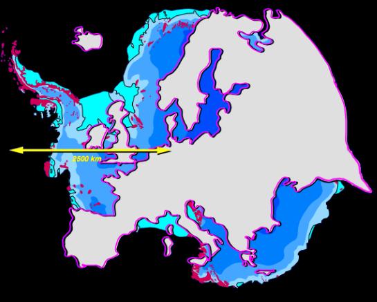 Antarctica/Europe Comparison by Hannes Grobe