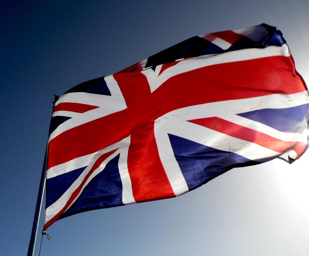Cupcake - Cờ của Vương quốc Anh