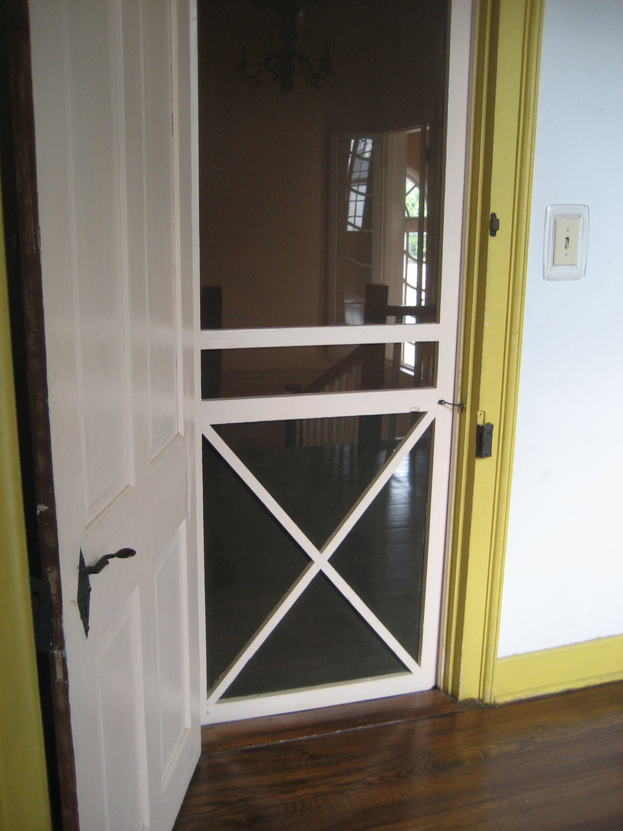 fileflickr customhouse interior screen doorjpg